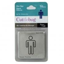 Faca cuttlebug provo craft man sign - 37-1084 -