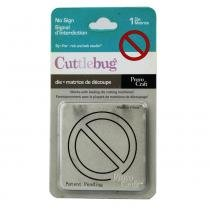 Faca cuttlebug provo craft no sign - 37-1085 -