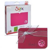 Faca de Corte Sizzix  Die Bigz Card Flower 654703 -