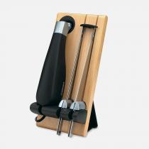 Faca Elétrica em Aço Inox com Suporte 127V CUISINART -