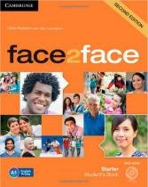 Face2face starter sb with dvd-rom - 2nd ed - Cambridge university