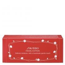 Facial Cotton Shiseido - Limpeza Facial - 60 Unidades - Shiseido