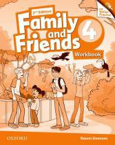 Family and friends 4 wb with online practice - 2nd ed - Oxford university
