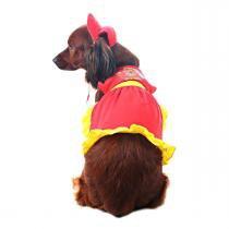 Fantasia Bombeira - Firedog - Super Pet - Fire dept - bombeiros