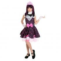 Fantasia Draculaura Monster High Sulamericana 35150 - Fantasia Monster High - GG - Sulamericana