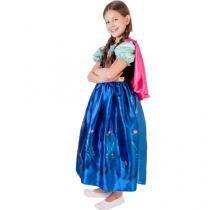 Fantasia Infantil Disney Frozen Anna Clássica - G Rubie´s