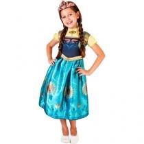 Fantasia Infantil Disney Frozen Anna Fever - G Rubie´s