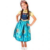 Fantasia Infantil Disney Frozen Anna Fever - G Rubies