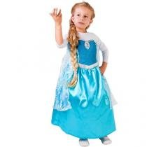 Fantasia Infantil Disney Frozen Elsa Clássica - G Rubies