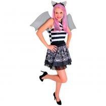 Fantasia Luxo Monster High Rochelle - G - Sulamericana