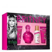 Fantasy Britney Spears - Feminino - Eau de Parfum - Perfume + Loção Corporal + Gel de Banho + Espuma -