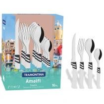 Faqueiro Amalfi 16 Peças Aço Inox 23499871 - Tramontina - Tramontina