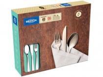 Faqueiro Brinox Gourmet 5115/104 Inox - 48 Peças