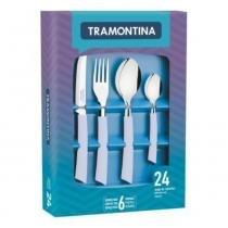 Faqueiro em aço inox 24 peças - Tramontina