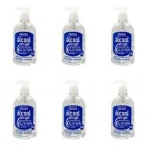Farmax Alcool Gel 70 430g (Kit C/06) -