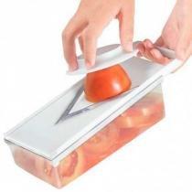 Fatiador de Tomates c/ Depósito 2 Espessuras Lâmina Afiada - 133468 - Keita