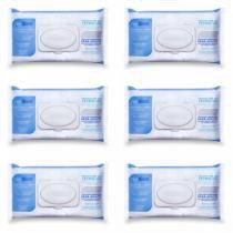 Feelclean Care Toalhas Umedecidas Adulto C/40 (Kit C/06) -