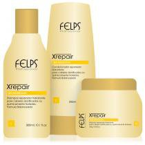 Felps Xrepair Kit Bio Molecular - Shampoo, Condicionador e Máscara - Home Care - Felps