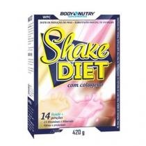 Feminy Shake Diet - 420g Morango - Body Nutry -