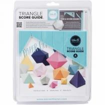 Ferramenta de Marcação WeR Memory Keepers   Triangle Score Guide  71331-9 - We r memory