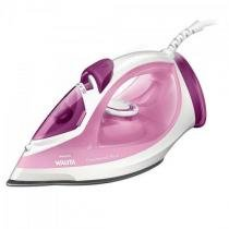 Ferro a vapor 2000w 220v easy speed ri2042/44 branco/rosa philips walita -