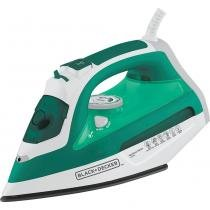 Ferro a Vapor com Spray e Base Antiaderente Black  Decker AJ3030 Verde/Branco 127V -