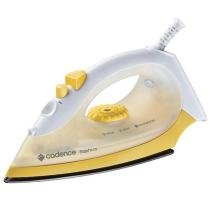 Ferro a Vapor Saphiro com Spray de Água IRO200 Amarelo/Branco - Cadence - Cadence
