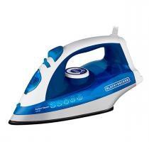 Ferro a Vapor X5700 Black And Decker Azul 1200W 60Hz - 220 Volts - Black And Decker