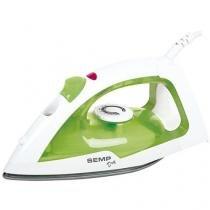 Ferro de Passar a Seco Semp Toshiba Dry Practice - Verde e Branco