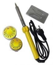 Ferro De Solda + 3m Solda + Pasta + Base - 60w 110v Importado