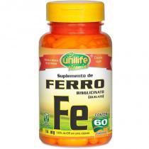 Ferro Quelato FE 14mg 60 cápsulas Unilife - Unilife