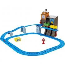 Ferrovia Elevador de Carga do Percy Thomas e Friends DFL92 Mattel -