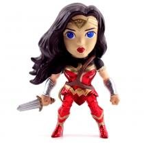 Figura Colecionável 10 Cm - Metals - DC Comics - Justice League - Mulher Maravilha - DTC - DTC