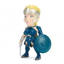 Figura Colecionável 10 Cm - Metals - DC Comics - Wonder Woman - General Antiope - DTC -