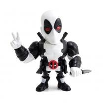 Figura Colecionável 10 Cm - Metals - Disney - Marvel - X-Force - Deadpool White - DTC - DTC