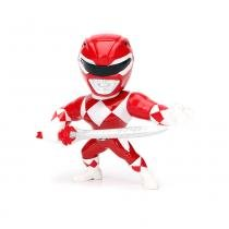 Figura Colecionável 10 Cm - Metals - Mighty Morphin - Power Rangers - Red Ranger - DTC - DTC