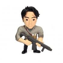 Figura Colecionável 10 Cm - Metals - The Walking Dead - Glenn Rhee - DTC - DTC