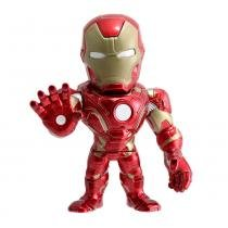 Figura Colecionável 15 Cm - Metals - Disney - Marvel - Civil War - Iron Man - DTC - DTC