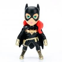 Figura colecionável 6 cm - metals - dc super hero girls - batgirl black - dtc -