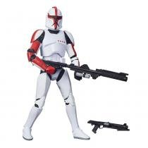 Figura Colecionável Star Wars - The Black Series - 12 - Capitão Clone Trooper - Hasbro - Disney - Hasbro
