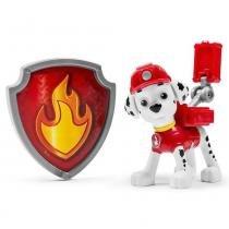 Figura de Ação Sunny Patrulha Canina Marshall com Kit de Ação e Distintivo - Sunny
