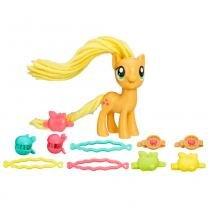 Figura My Little Pony - Cabelo Estilo - Applejack - Hasbro - Hasbro