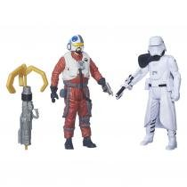 Figura Star Wars Dupla EPVII Snap Wexley - Hasbro -