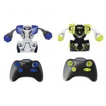 Figuras Eletrônicas de Controle Remoto - Robo Kombat - Silverlit - DTC -