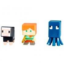 Figuras Minecraft - Pack com 3 - Série 13 - Mattel - Mattel