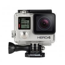 Filmadora gopro hero4 silver surf / 12mp / wifi / bluetooth / 4k - Gopro
