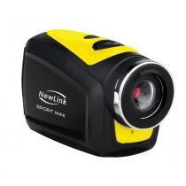 Filmadora Newlink Sport Mini HD FS202 com Acessórios -