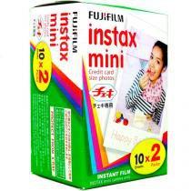 Filme Instantâneo Fujifilm Instax Pack 20 Unidades para Fuji Instax Mini 7S e Instax Mini 8