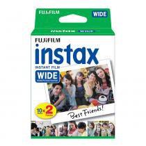 Filme Instantâneo Fujifilm Instax Wide Pack c/ 20 fotos -