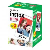 Filme instantâneo Instax Mini Borda Branca FUJIFILM - Pack c/ 30 poses -